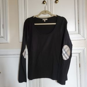 Burberry black long sleeve